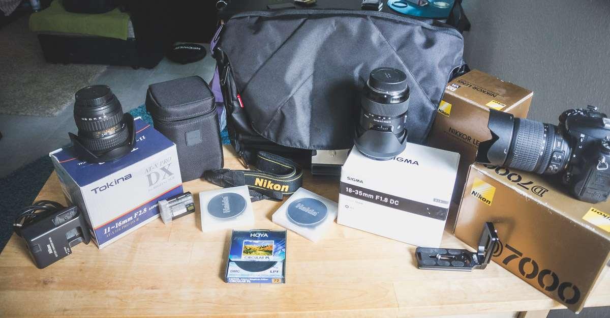 Mit der Nikon D7000 und dem Tokina 11-16 f2.8 ging es zur Burg Eltz.