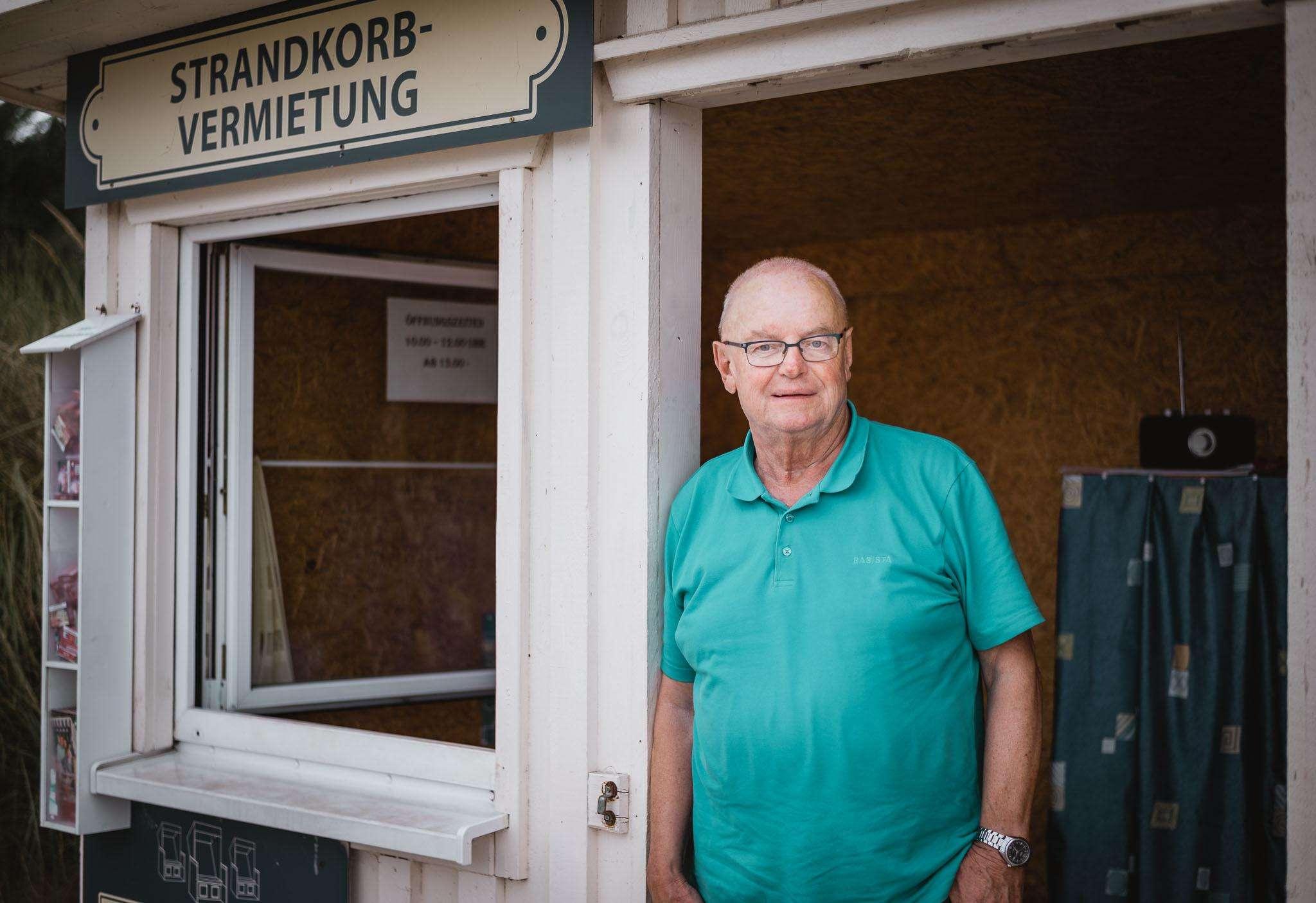 Strandkorb Vermieter in Zingst - Peter Kroll