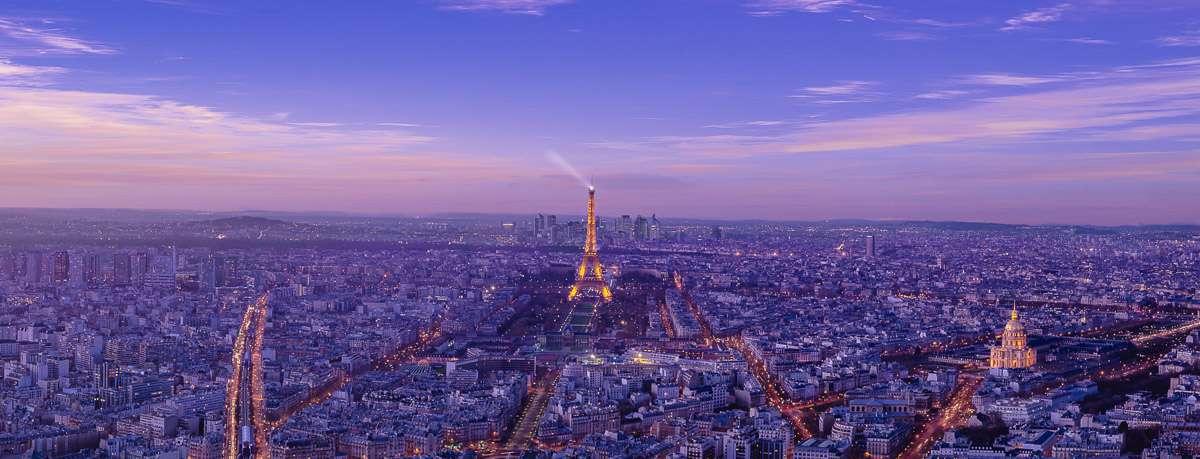 Die Lichter von Paris vom Tour Montparnasse