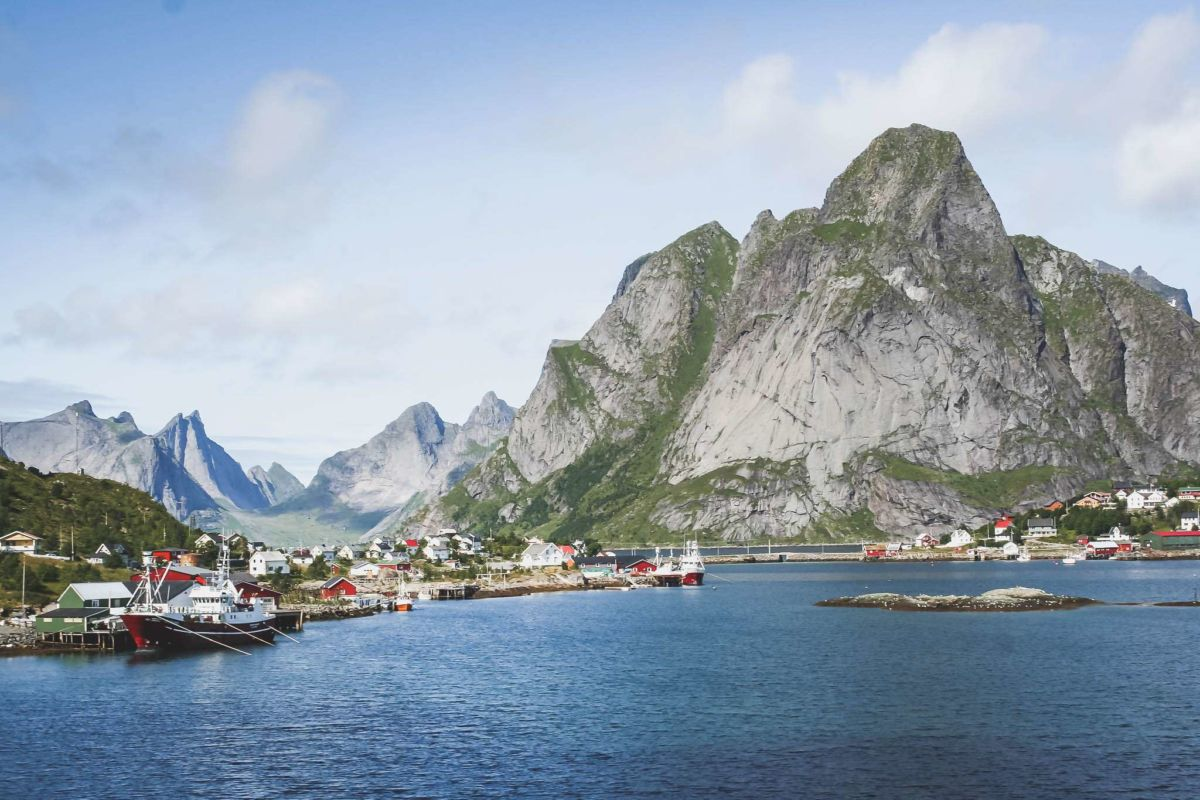 Reine - Zentrum von Moskenesøy