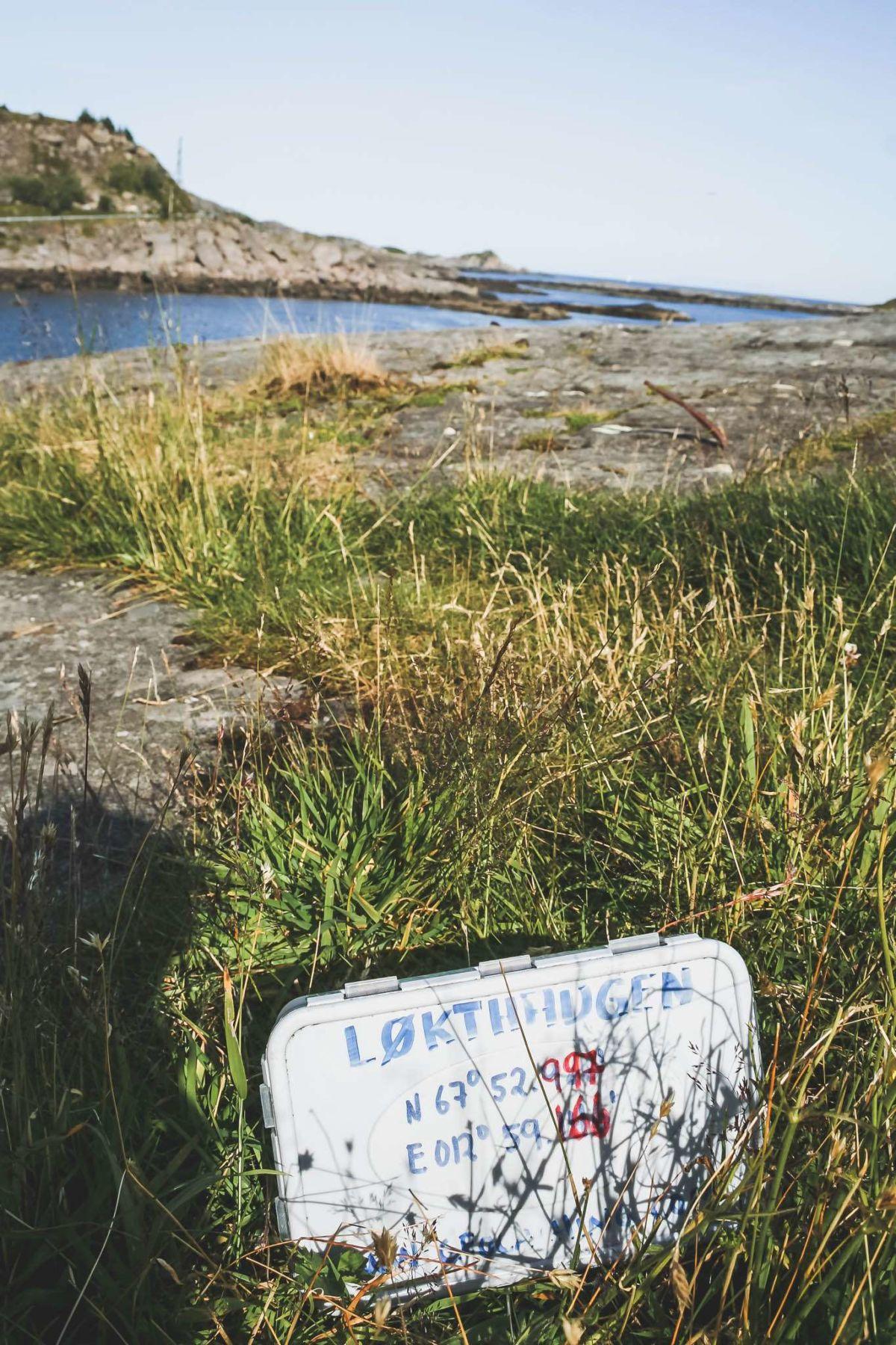 Løkthaugen - Geocaching für Fortgeschrittene