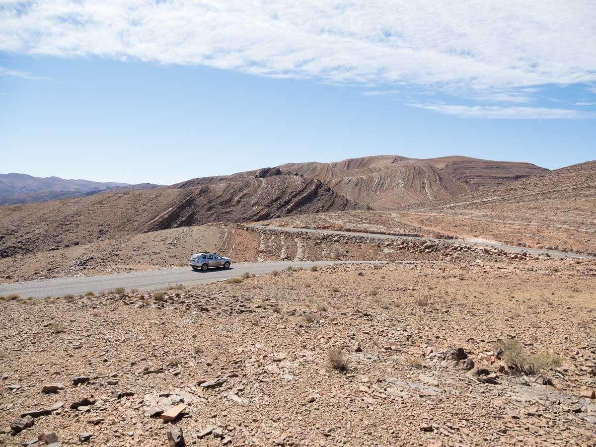 Mit dem Duster durchs Atlasgebirge