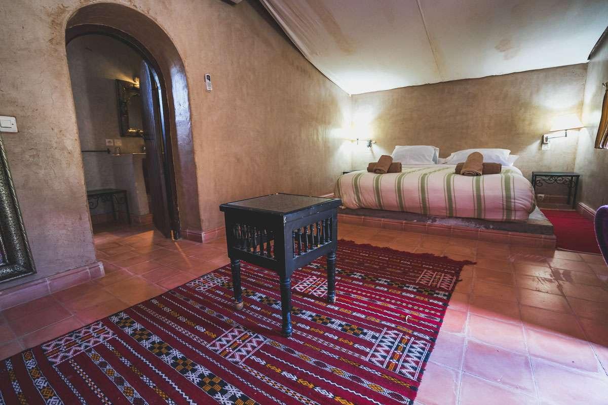 Unsere kleine Lehmhütte im Hotel Bab Rimal