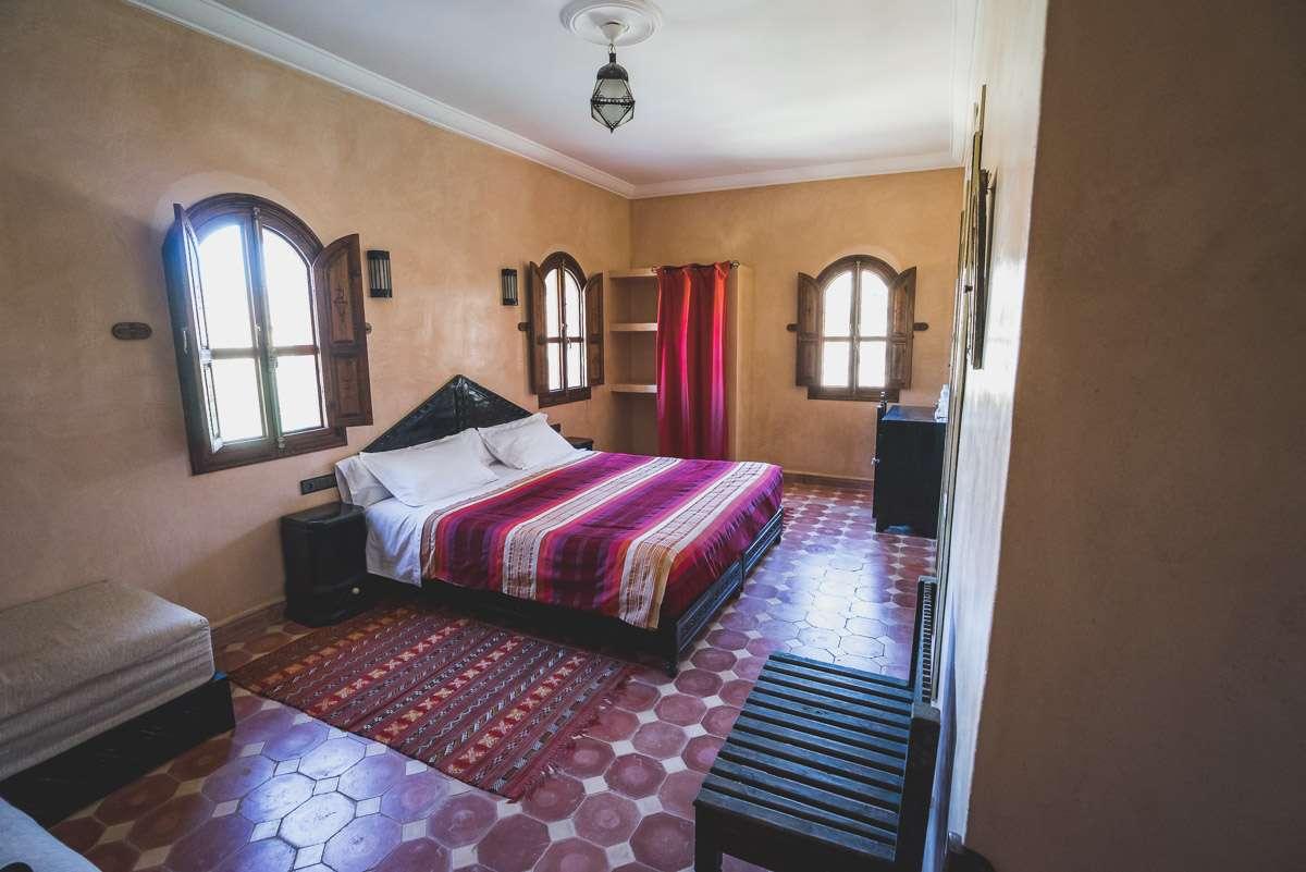 Unser wundervolles Zimmer bei Bernadette und Jean in Tafraoute