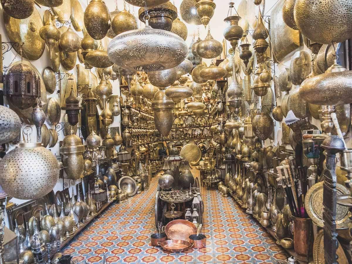 Ein letztes Mal durch Marrakesch schlendern