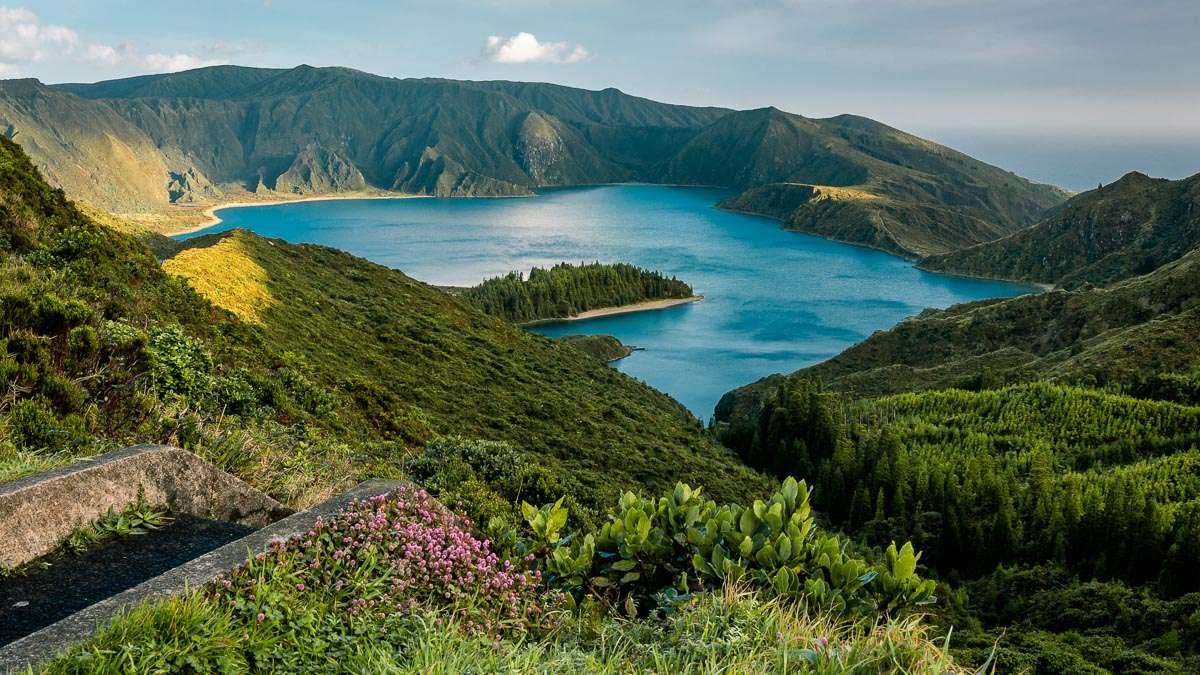 """Der Lagoa do Fogo. Unser """"heiliger Gral"""" der Azoren Reise."""