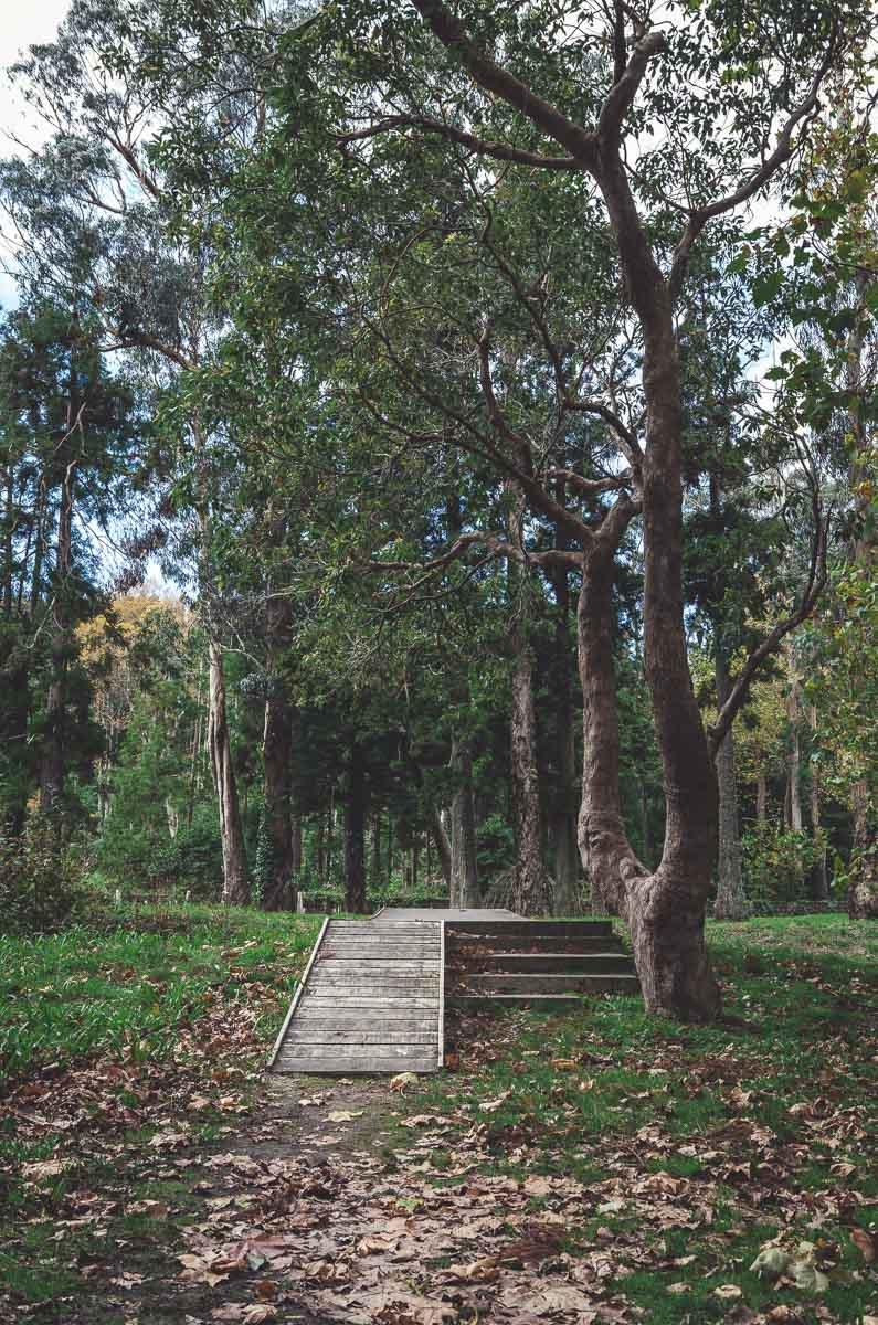 Der Park ist wirklich schön angelegt in Furnas.