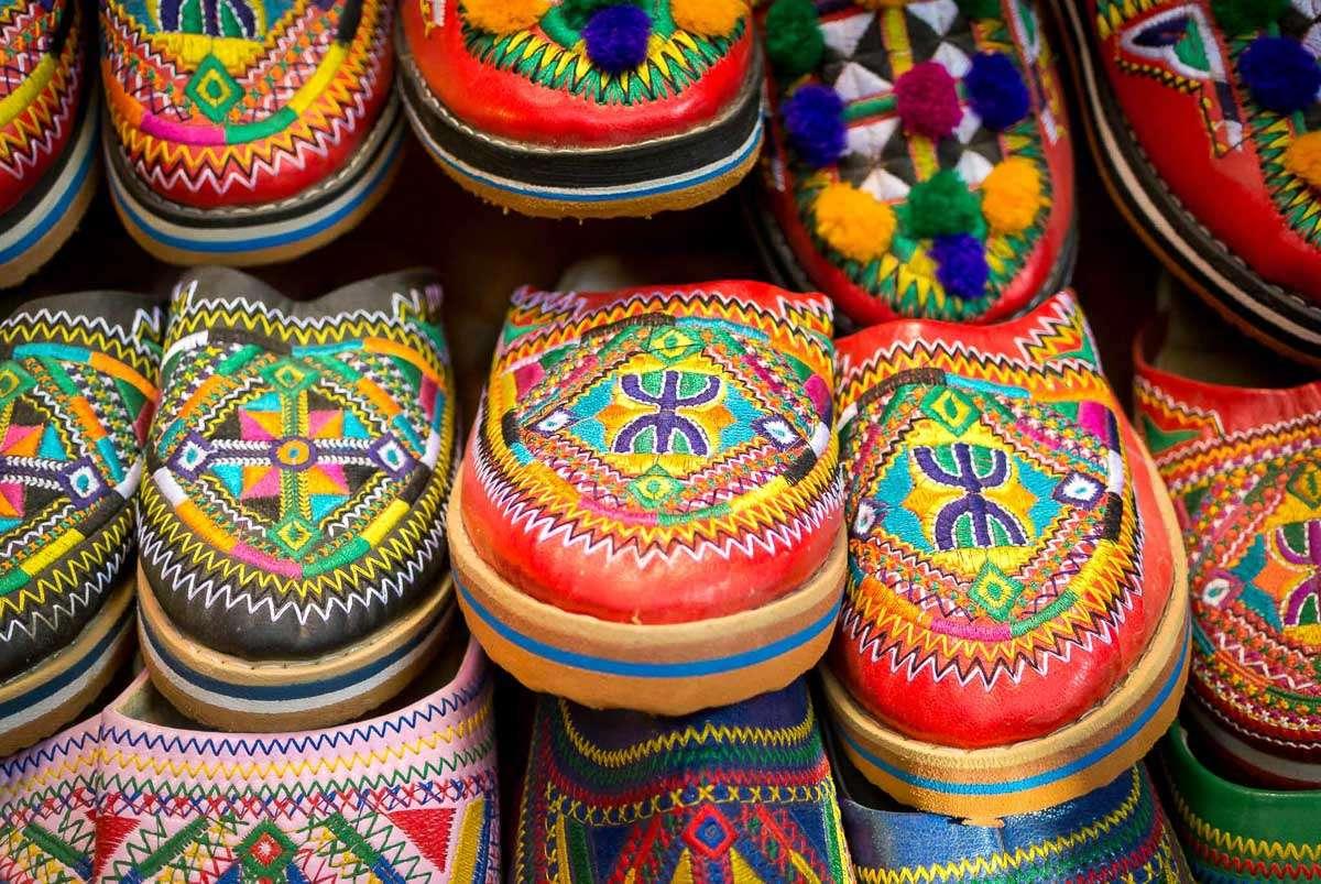 Babouchen - Berber Schuhe in Marrakesch