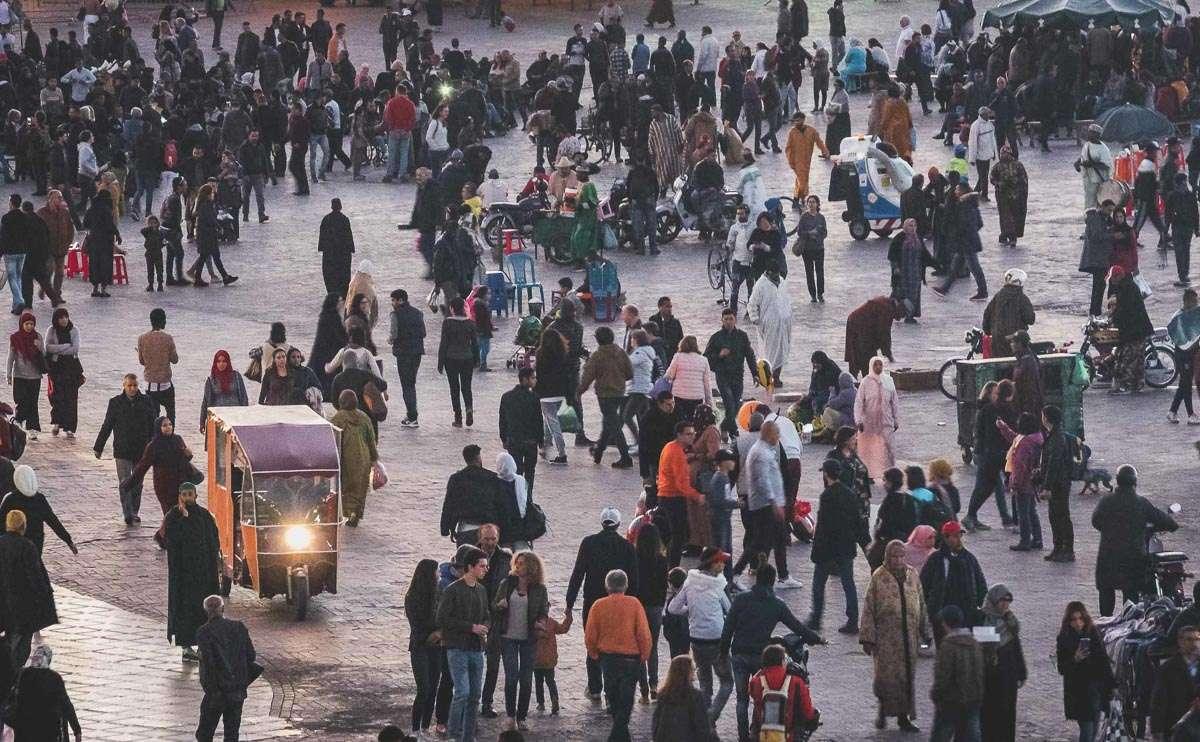 Zurück im bunten Treiben von Marrakesch