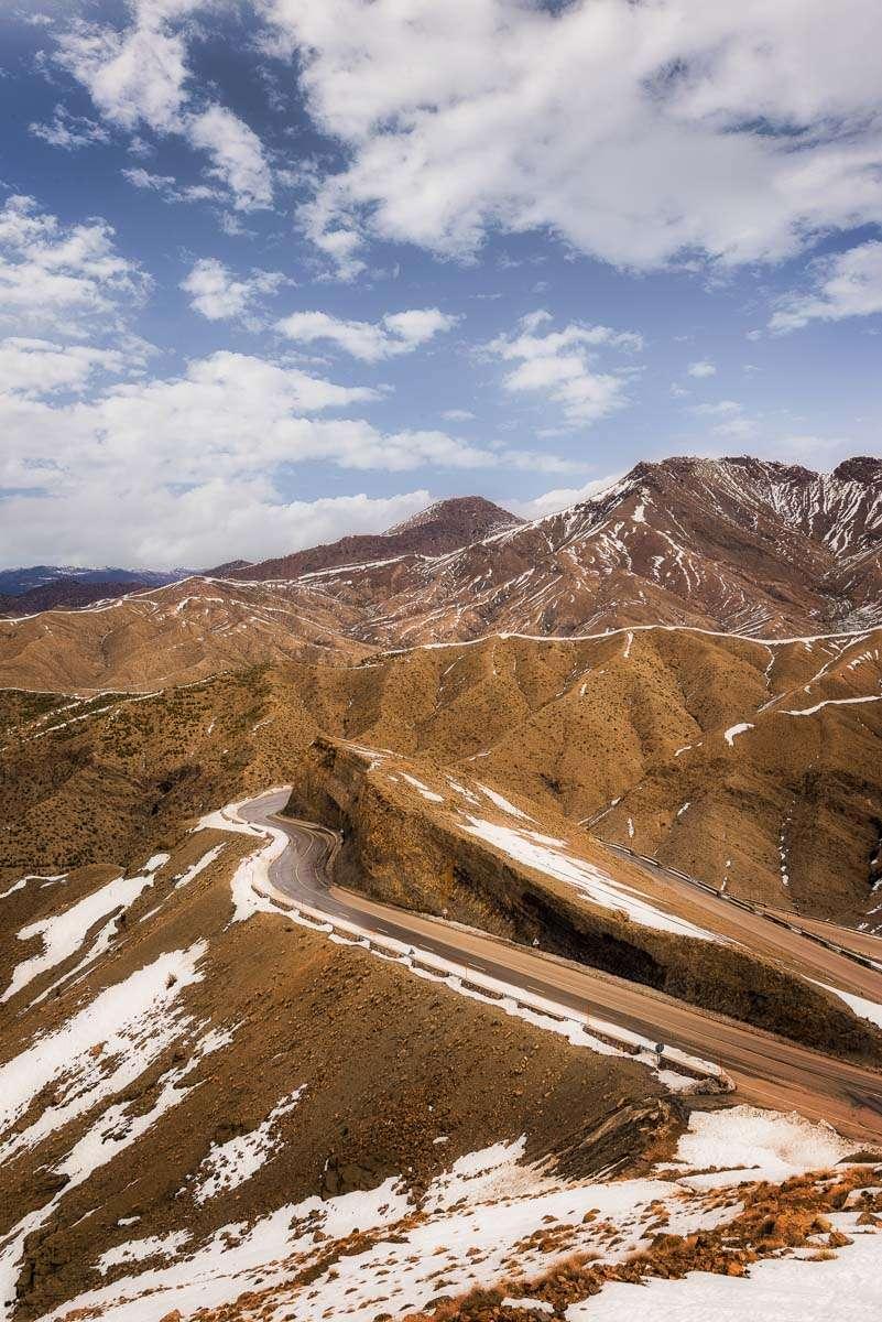Der Weg durchs Atlas Gebirge