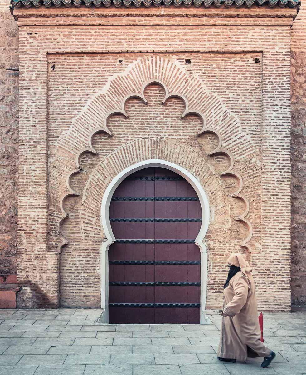 Eingang zur Moschee. Für uns natürlich nicht gestattet