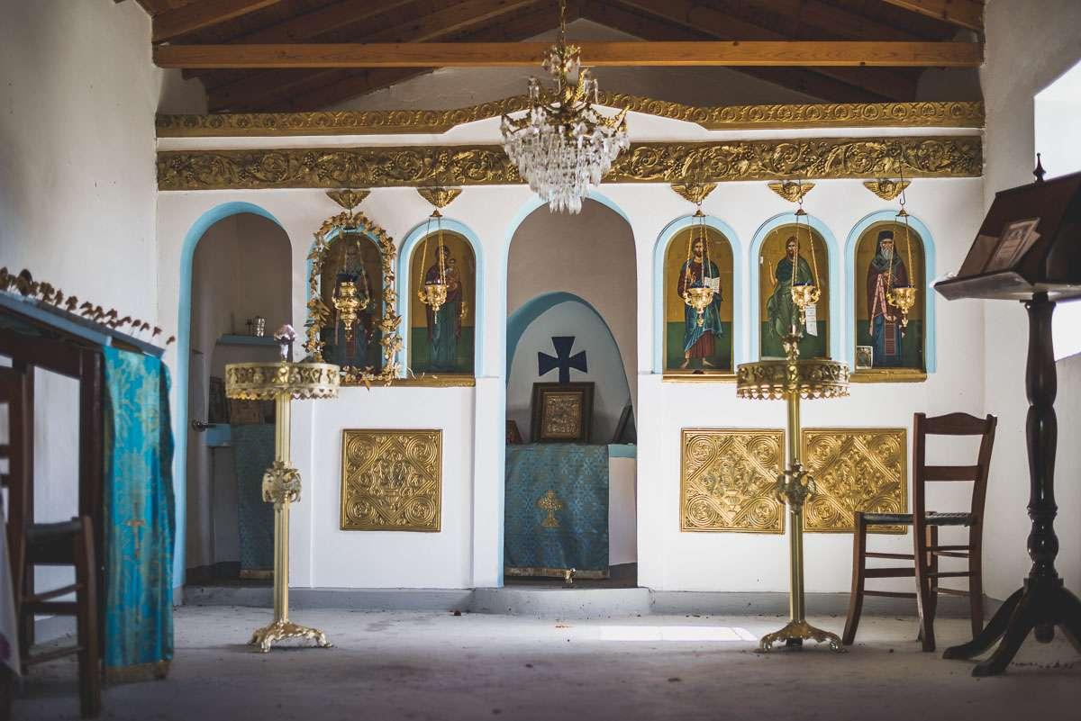 Der Altar von Saint Nicholas bei Platana.