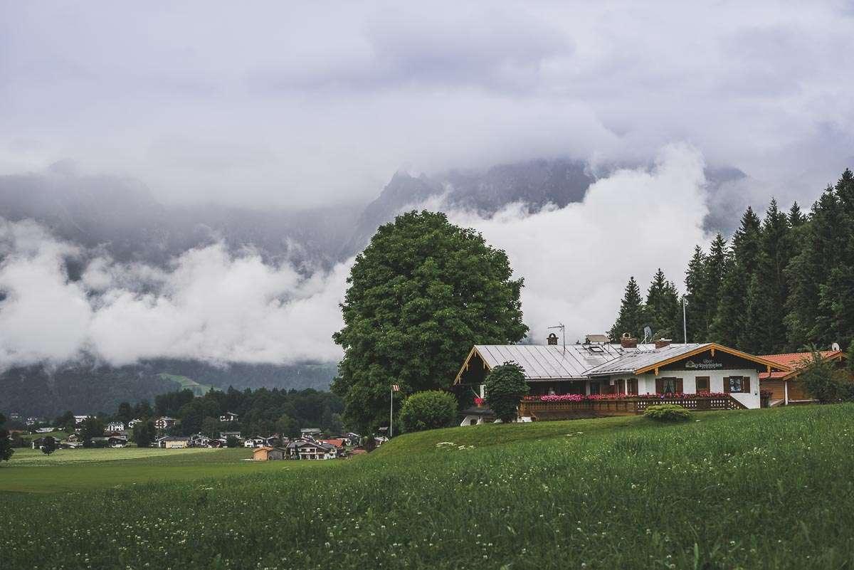Auf der Alm in Berchtesgaden