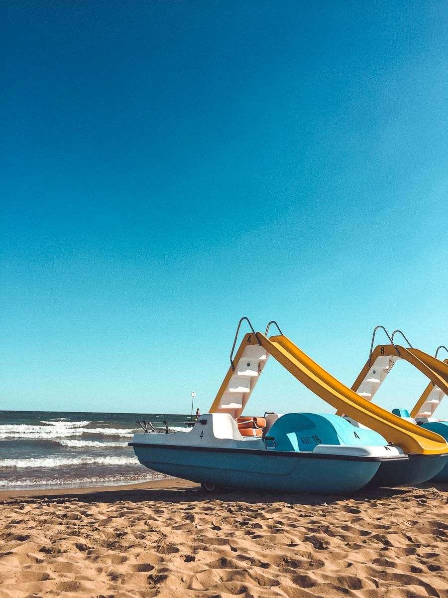 Strand in Italien