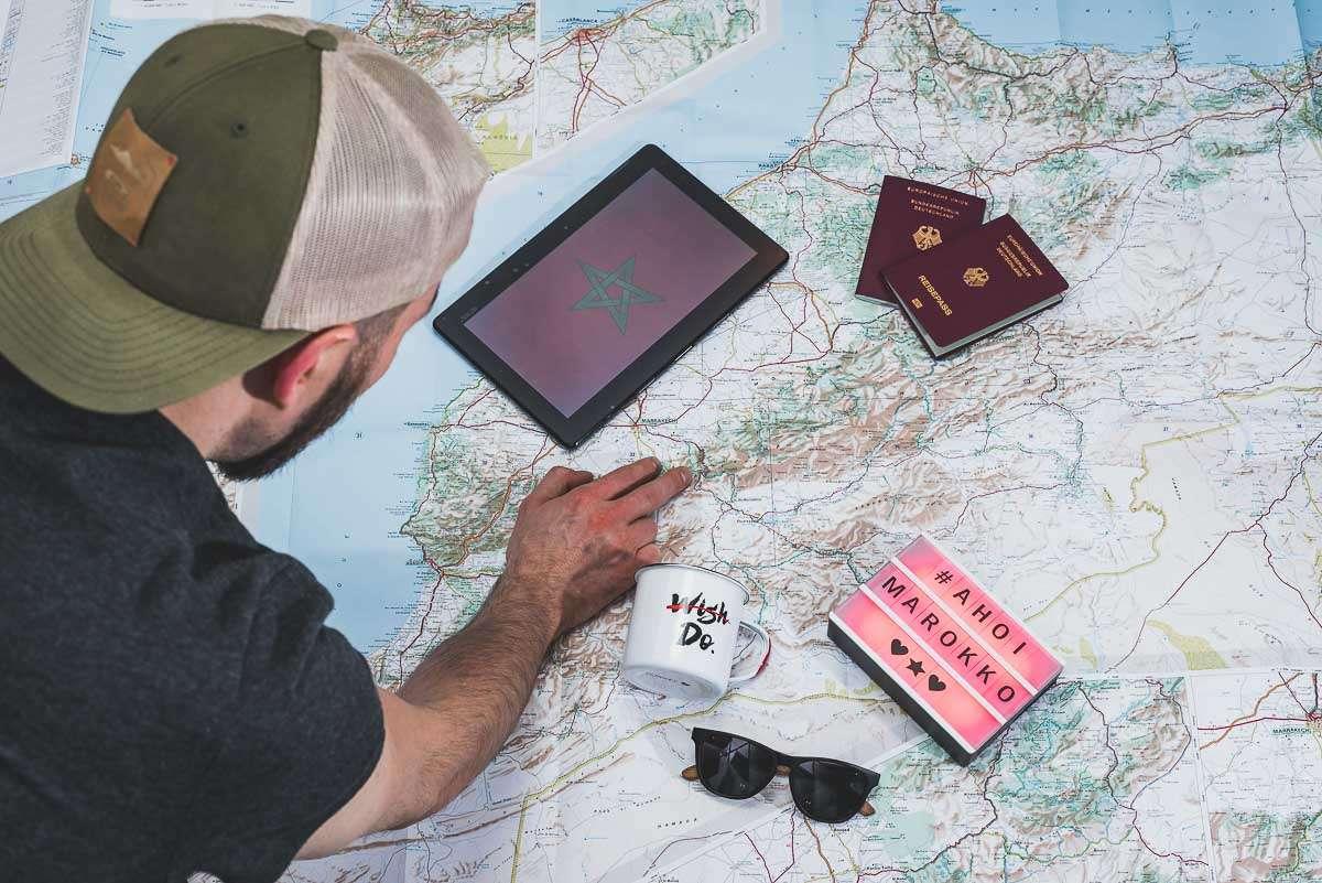 Alex plant den Roadtrip nach Marokko