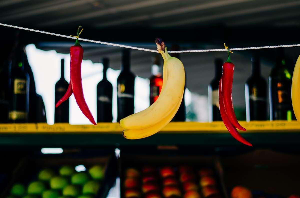 Banane und Chilli