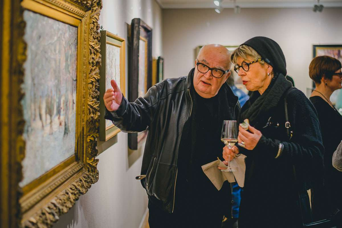 Klaus Tiedge mit Frau