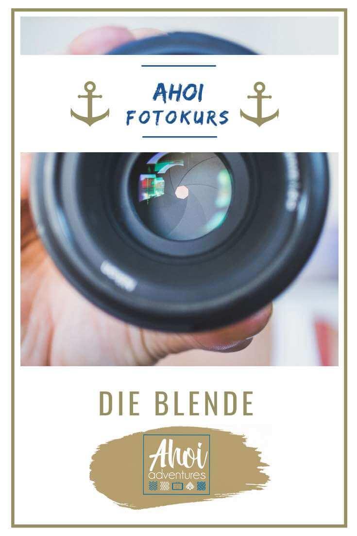 Fotokurs-Blende