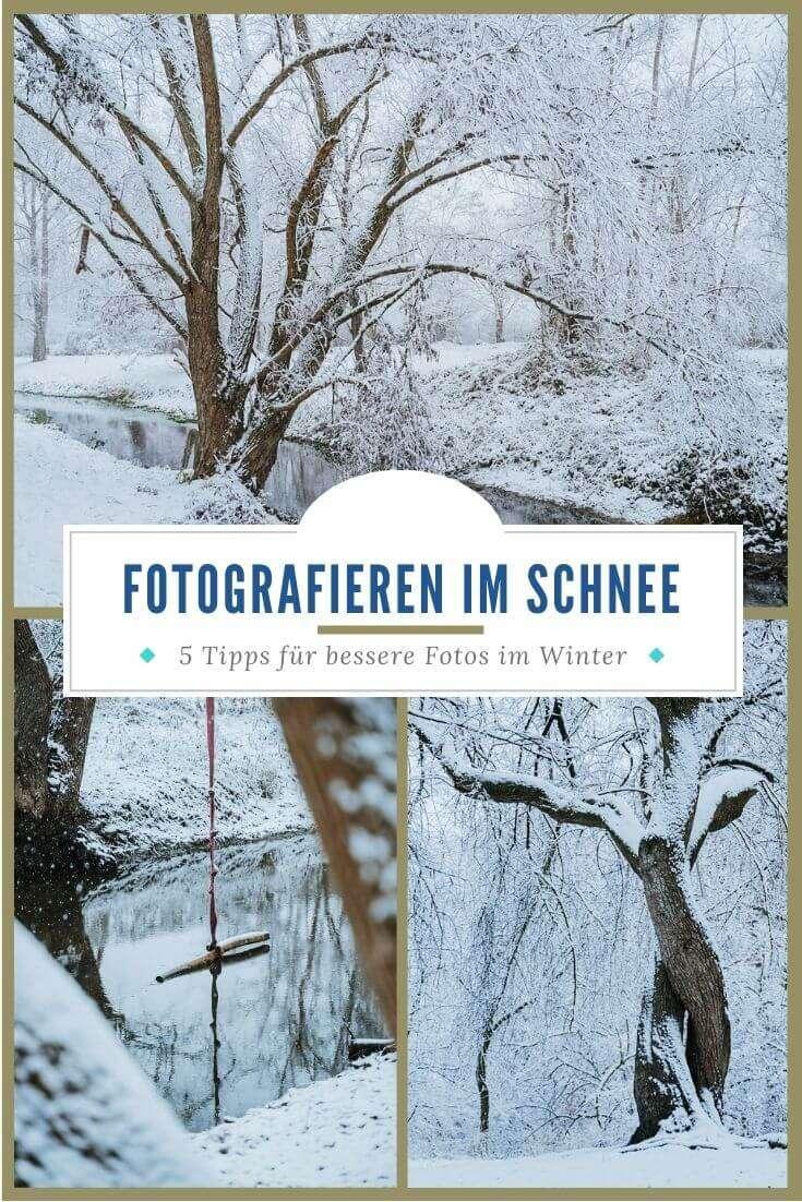 Kamera im Schnee - Pinterest