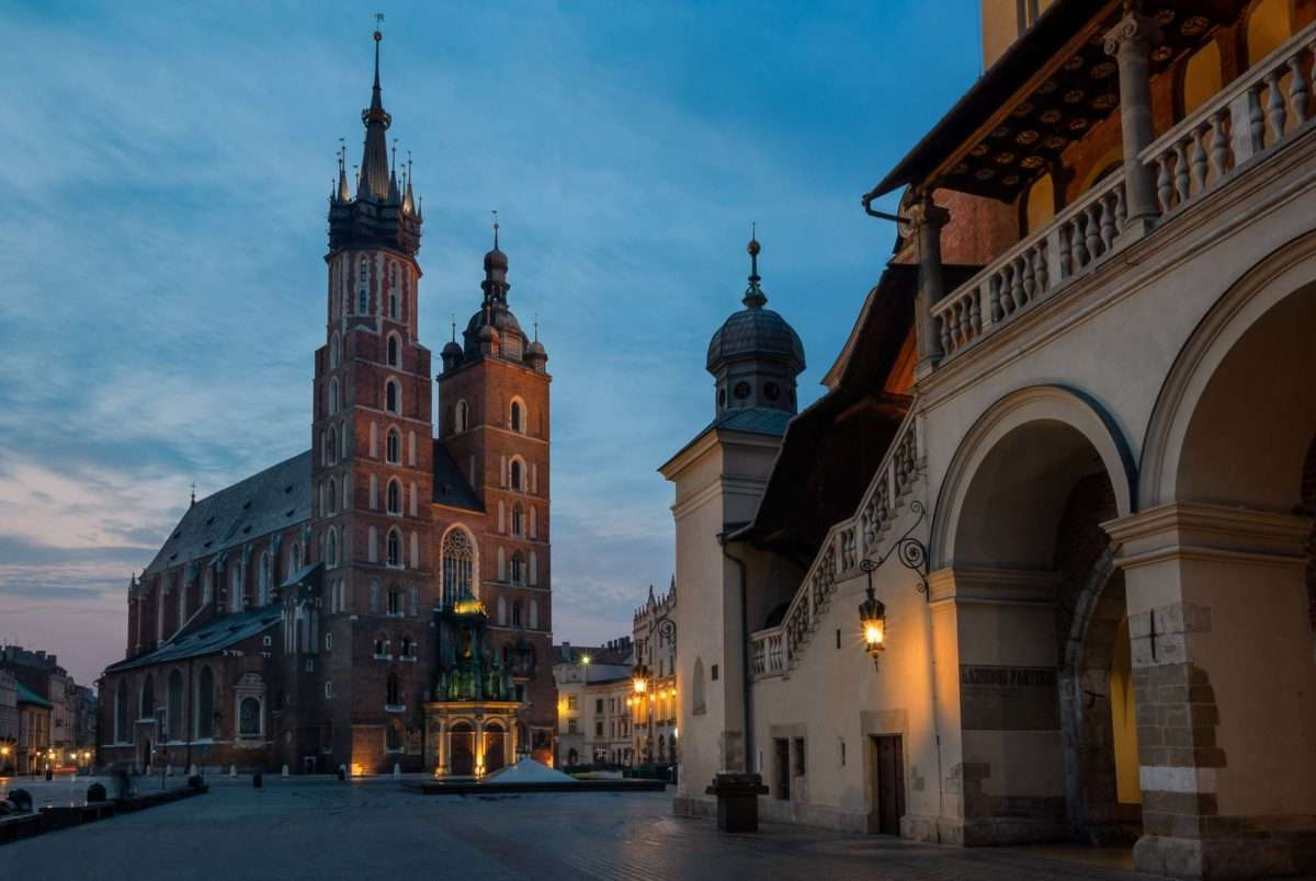 Top Fotospots in Krakau