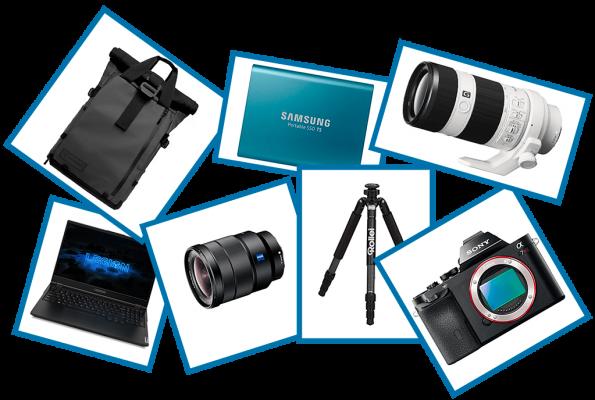 Ahoi Kamera Ausrüstung